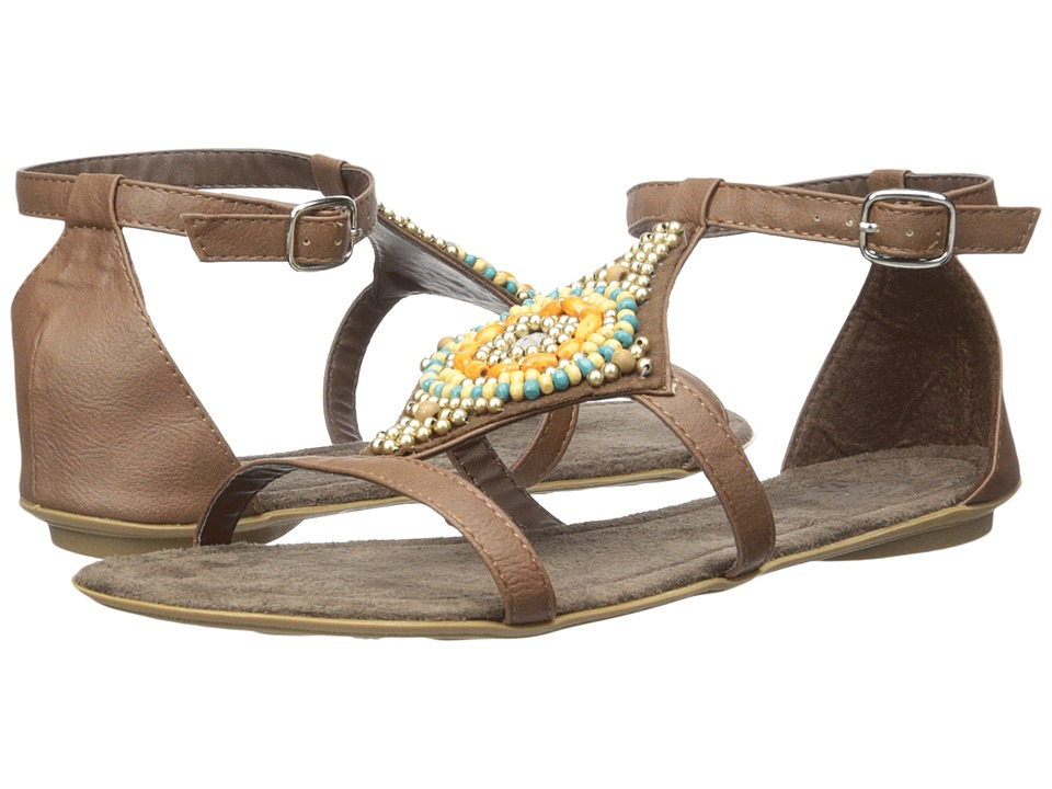 MUK LUKS - Lisa (Brown) Women's Sandals