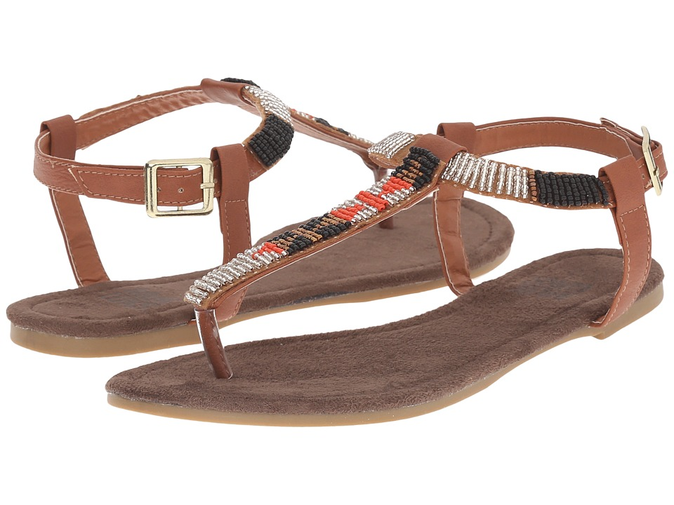 MUK LUKS - Jennifer (Brown) Women's Sandals