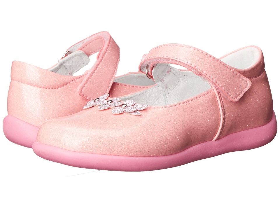 Kid Express - Lilibeth (Toddler/Little Kid) (Pink Glitter Patent) Girl's Shoes