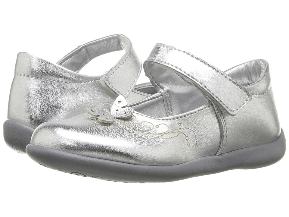 Kid Express - Jordyn (Toddler/Little Kid) (Silver Metallic) Girl's Shoes