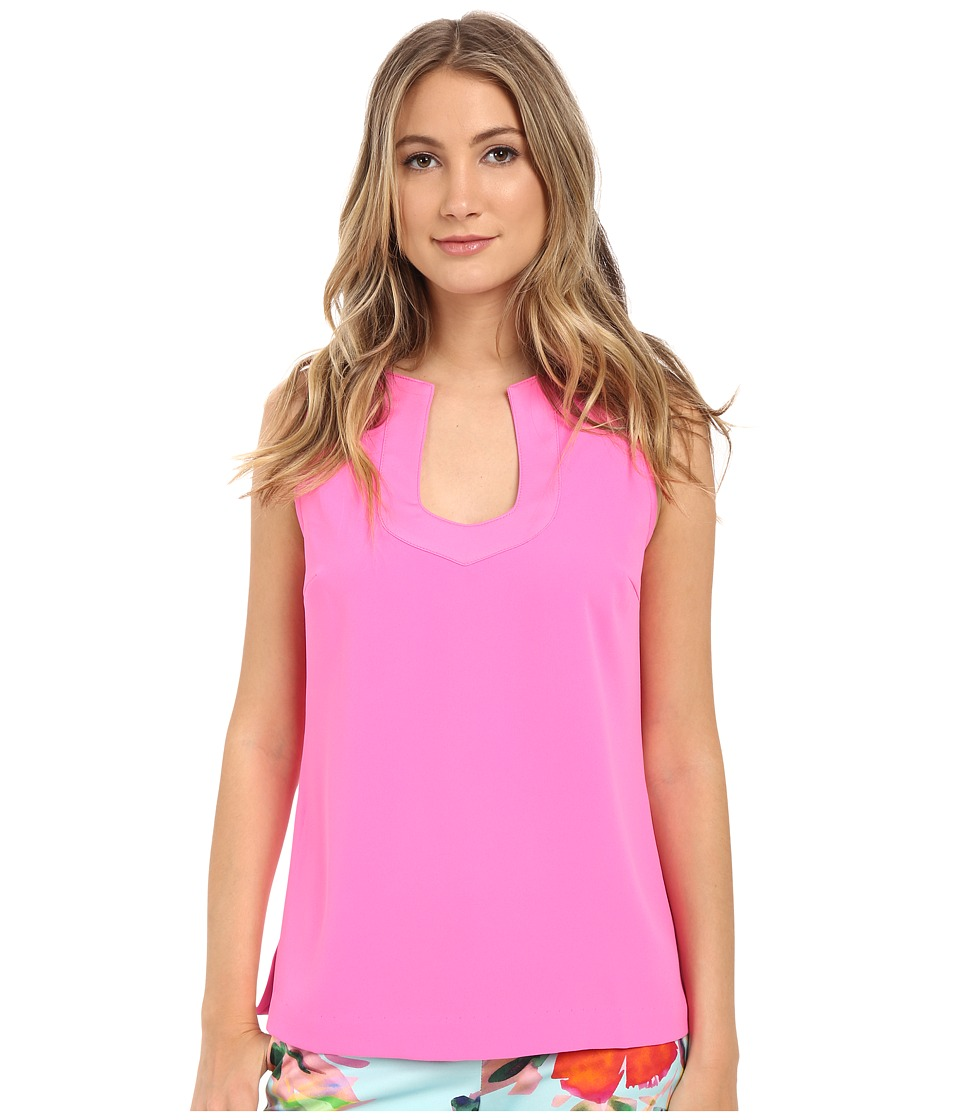 Trina Turk - Kayson Top (Flamingo) Women's Clothing