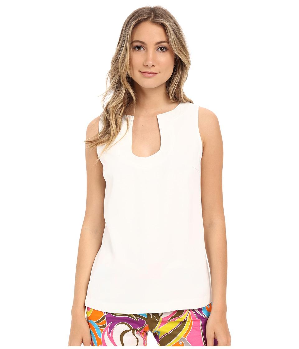 Trina Turk - Kayson Top (Whitewash) Women's Clothing