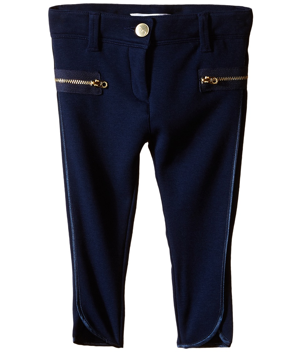 Little Marc Jacobs - Milano Trousers (Toddler/Little Kids) (Dark Blue) Girl's Casual Pants