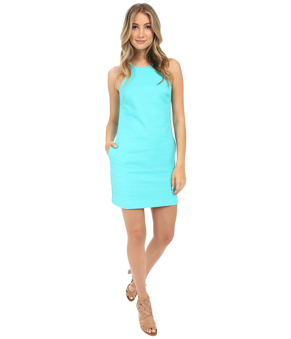Trina Turk Aptos 2 Pocket Dress (Pearl Aqua) Women