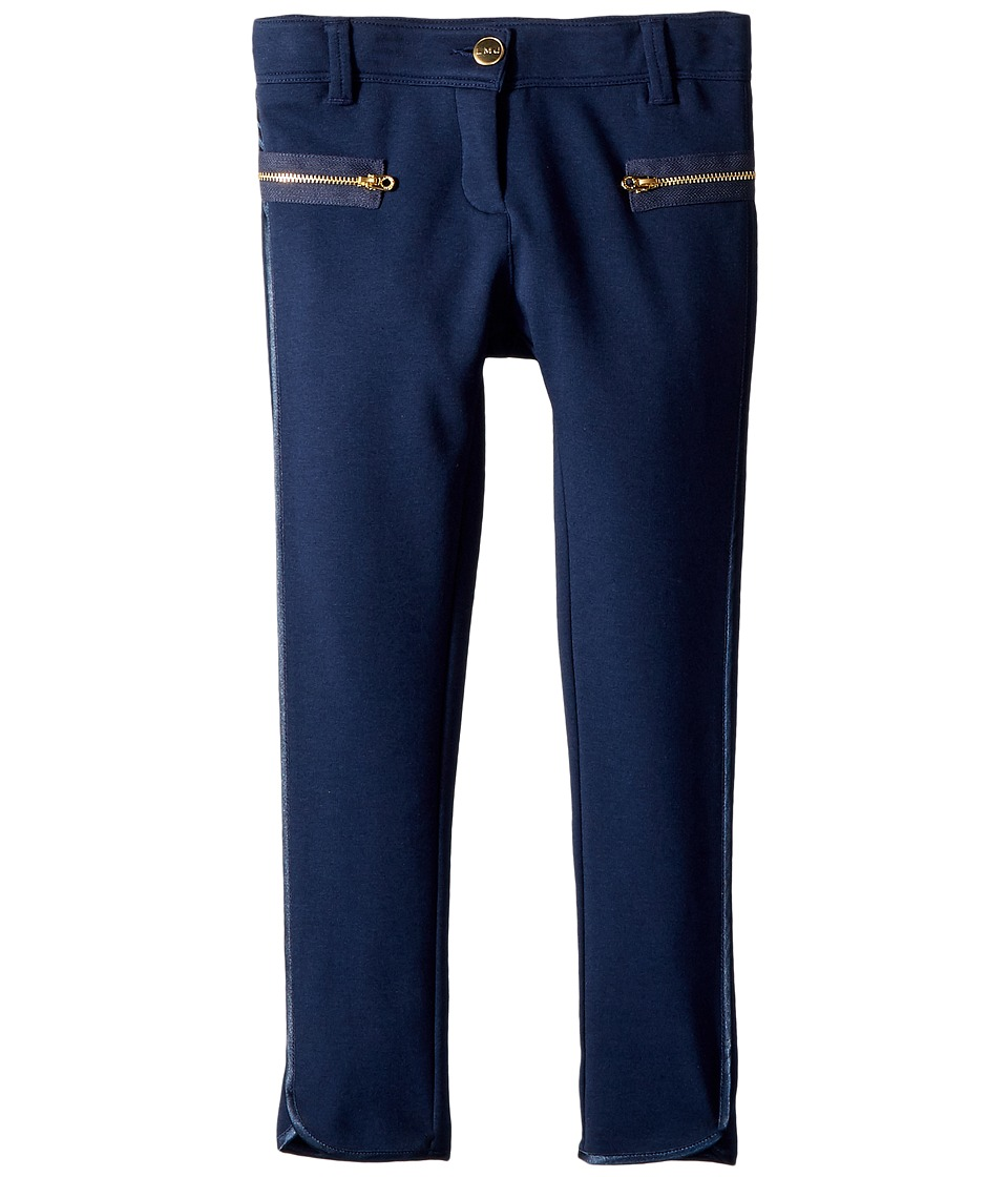 Little Marc Jacobs - Milano Trousers (Little Kids/Big Kids) (Dark Blue) Girl's Casual Pants