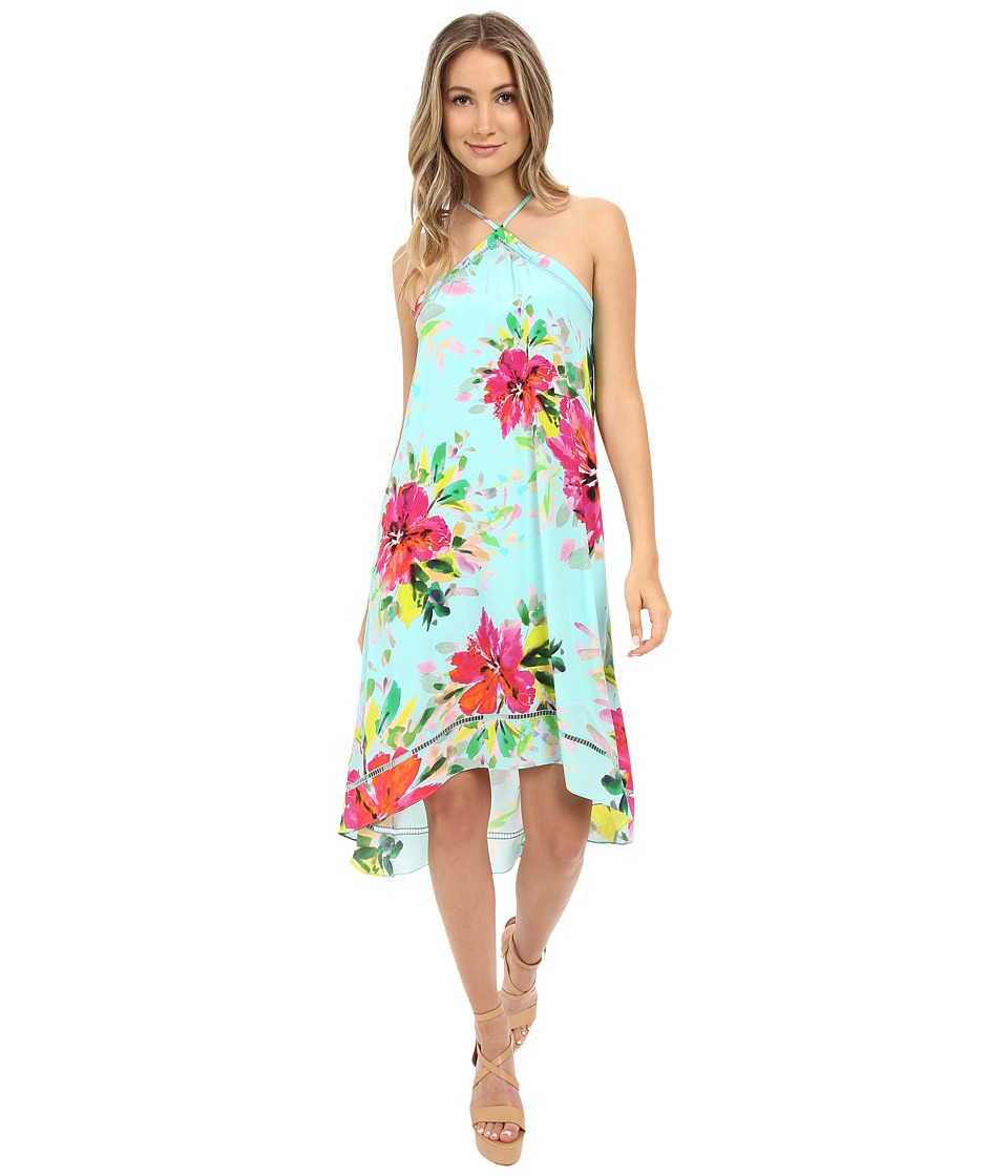 Trina Turk Kairo Midi Dress (Multi) Women
