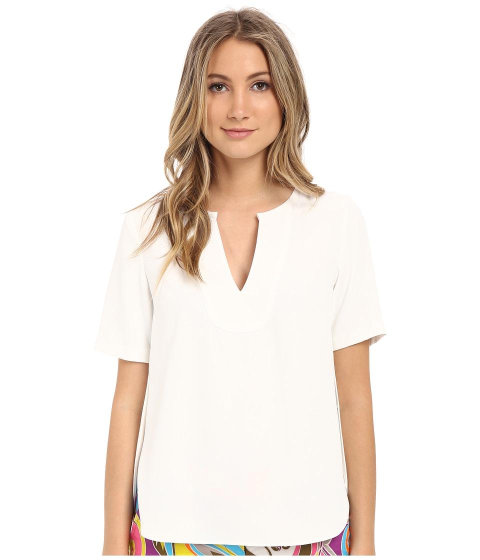 Trina Turk - Kamren Top (Whitewash) Women's Clothing