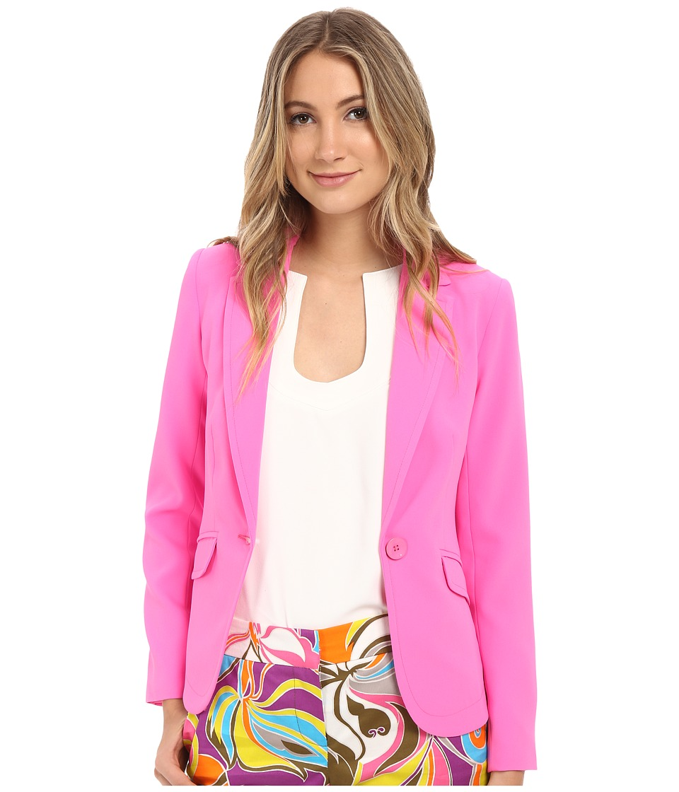 Trina Turk - Norte Jacket (Flamingo) Women's Coat