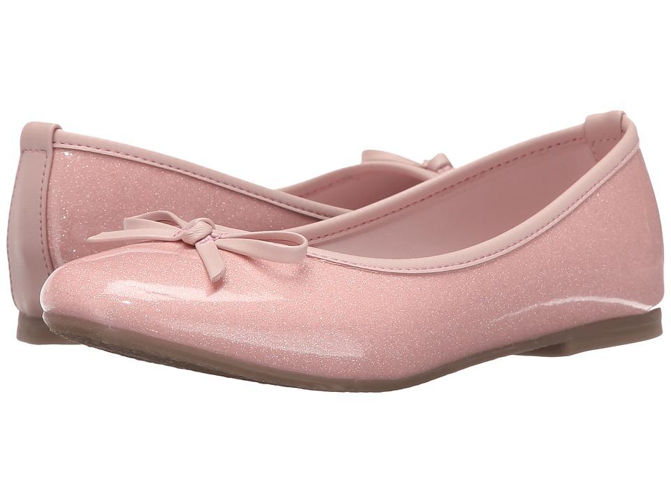 Kid Express - Jojo (Little Kid/Big Kid) (Pink Glitter Patent) Girl's Shoes