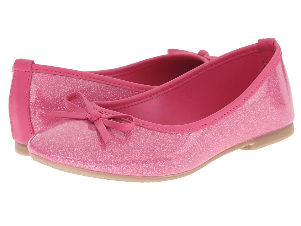 Kid Express - Jojo (Little Kid/Big Kid) (Fuchsia Glitter Patent) Girl's Shoes