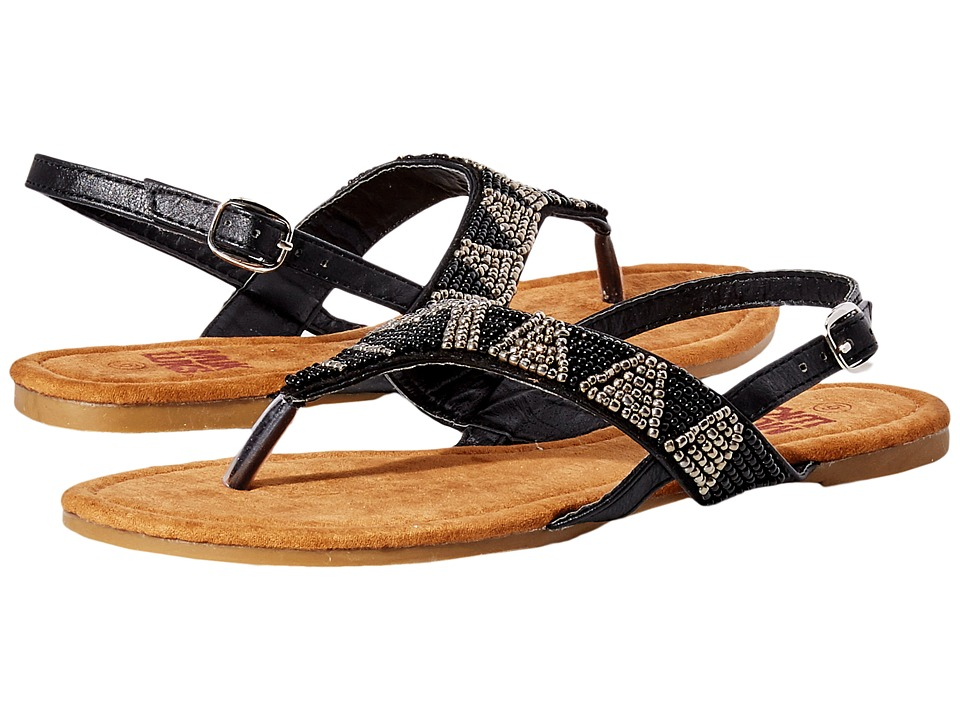 MUK LUKS - Jamie (Black) Women's Sandals