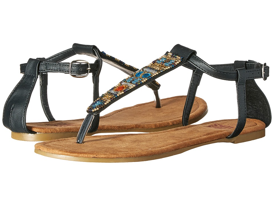 MUK LUKS - Monica (Black) Women's Sandals