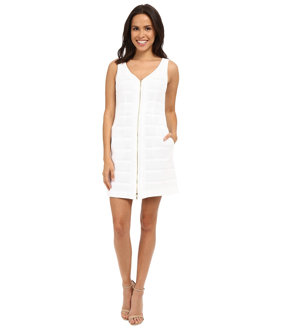 Trina Turk Reanna Dress (Whitewash) Women