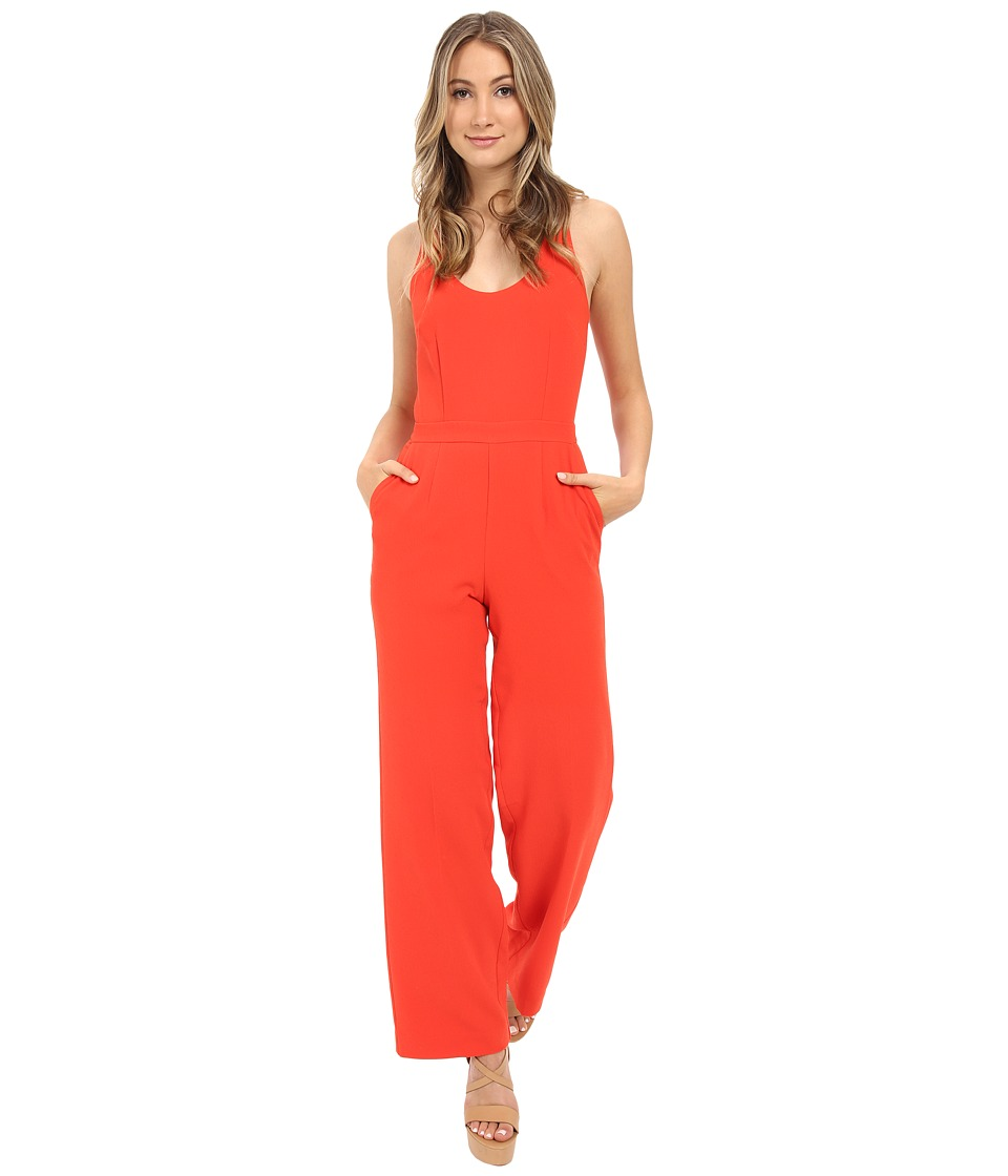 Trina Turk - Golda Jumpsuit (Tomato) Women's Jumpsuit & Rompers One Piece