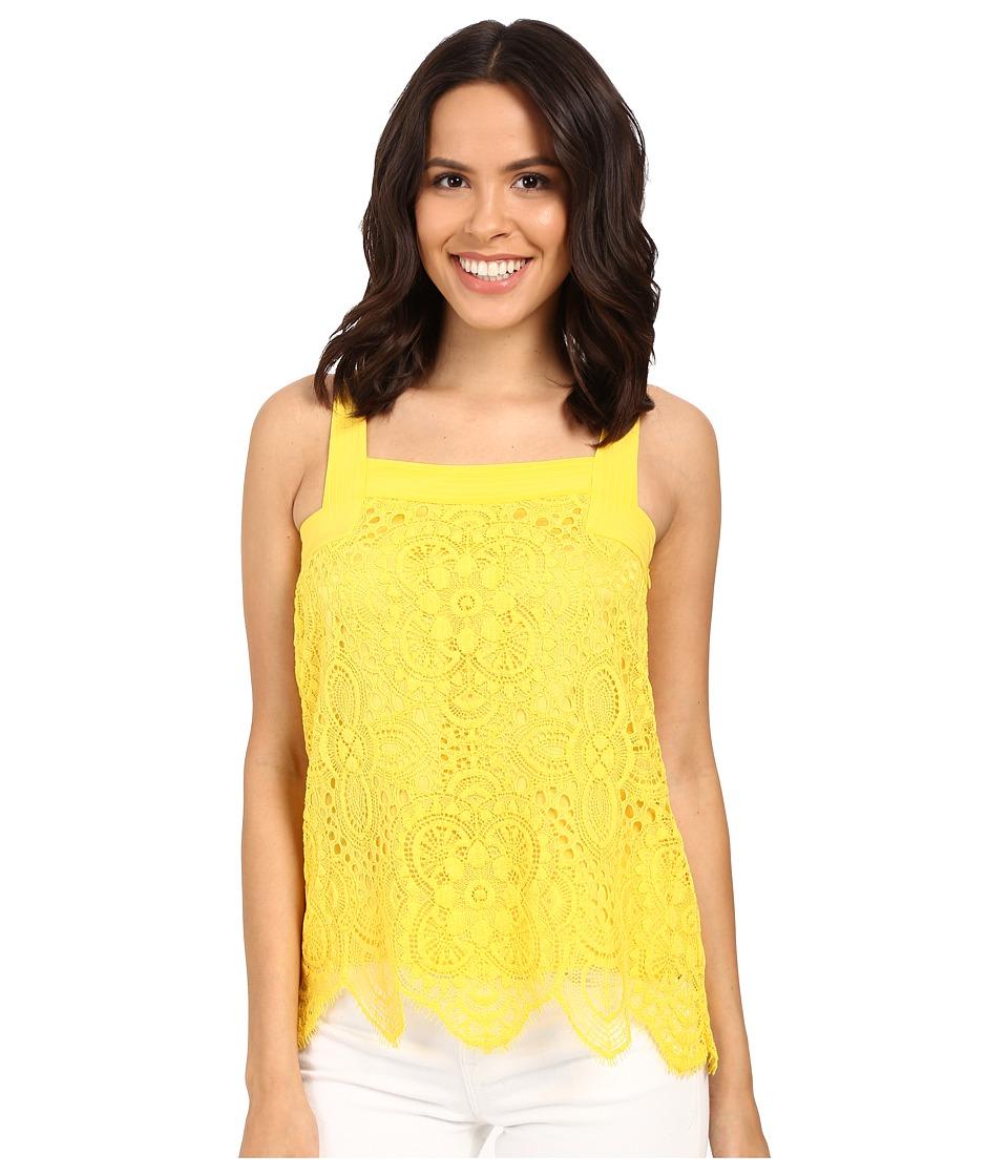 Trina Turk - Kaela Top (Leo Yellow) Women's Clothing