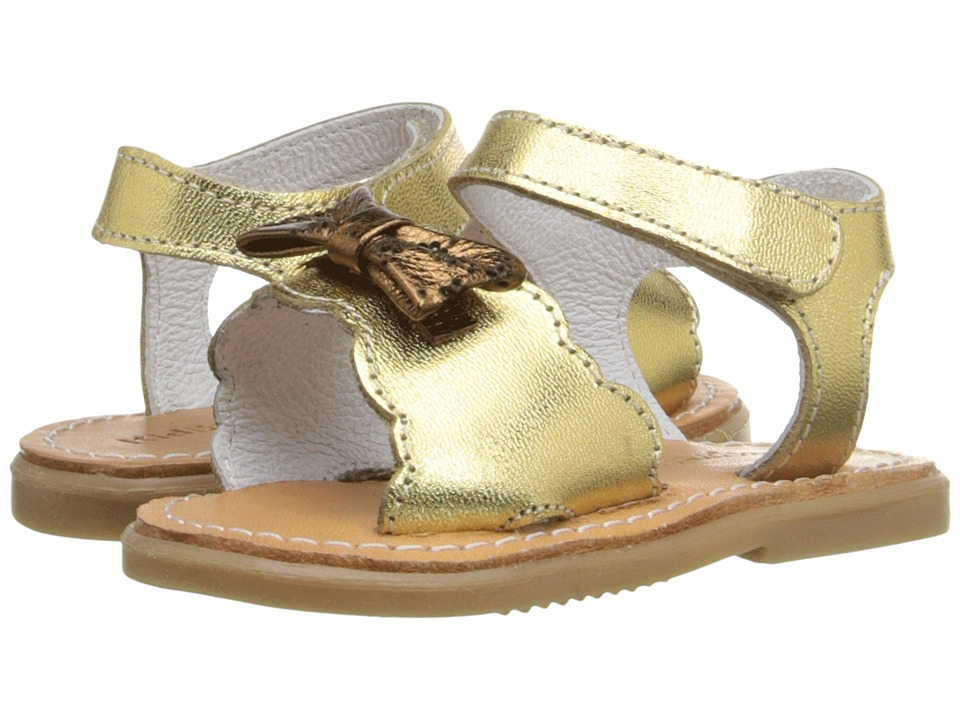 Kid Express - Hadley (Infant/Toddler) (Gold Metallic) Girls Shoes