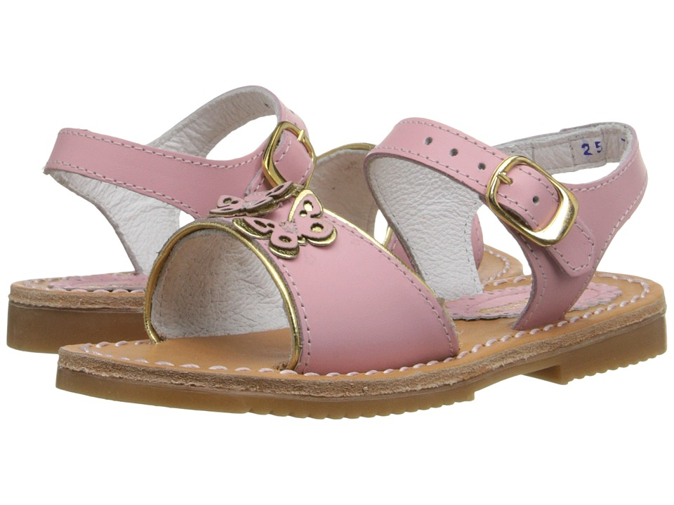 Kid Express - Ophelia (Toddler/Little Kid/Big Kid) (Pink Leather) Girls Shoes