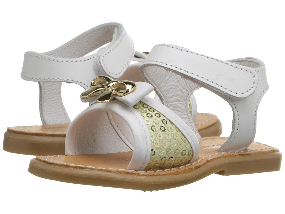 Kid Express Ivette (Infant/Toddler) (White Combo) Girls Shoes
