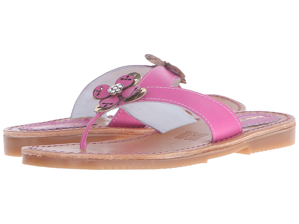 Kid Express Mabel (Toddler/Little Kid/Big Kid) (Fuchsia Leather) Girls Shoes