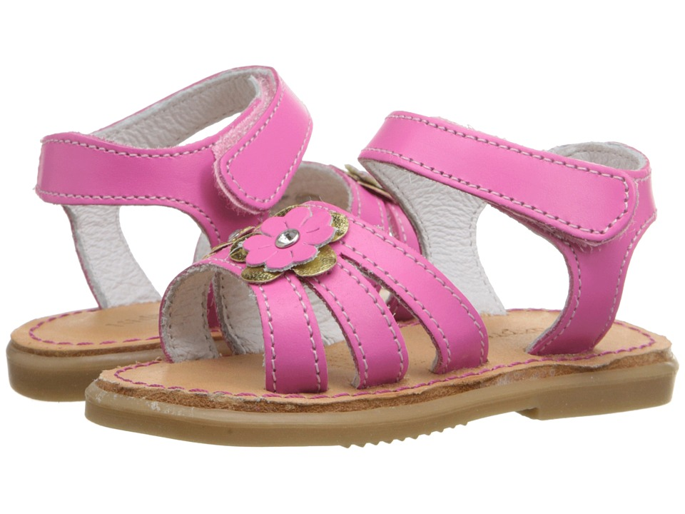 Kid Express - Alina (Infant/Toddler) (Fuchsia Leather) Girls Shoes