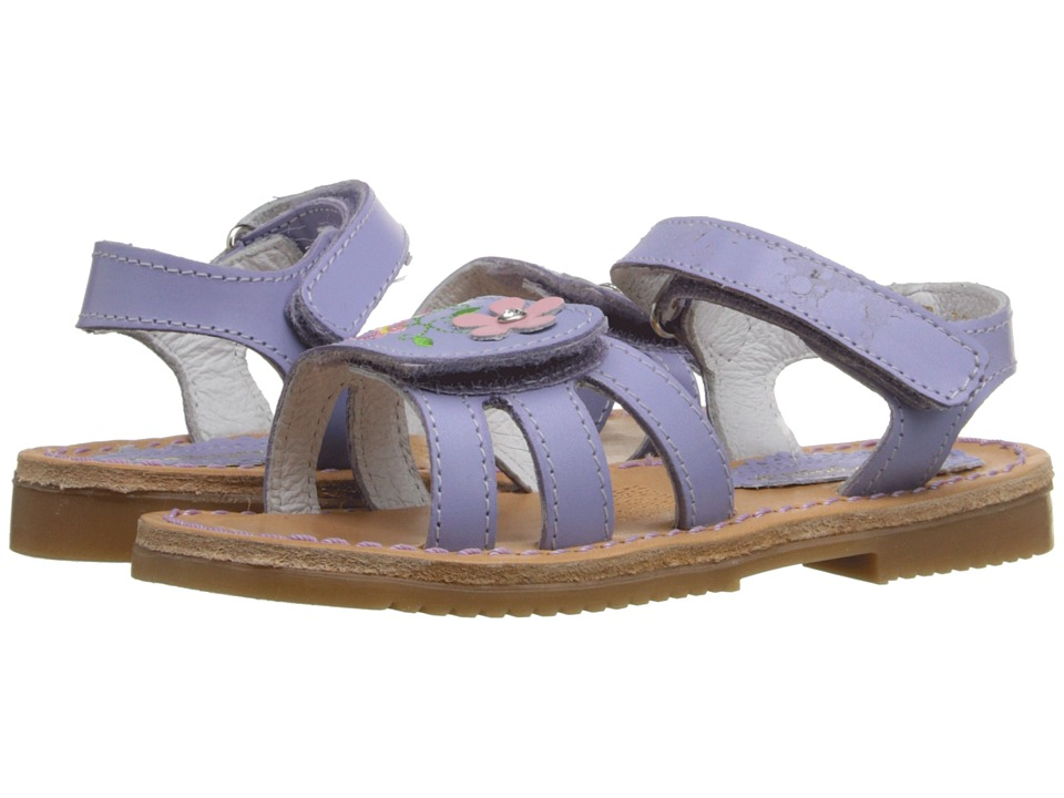 Kid Express - Floretta (Toddler/Little Kid/Big Kid) (Lilac Leather) Girls Shoes