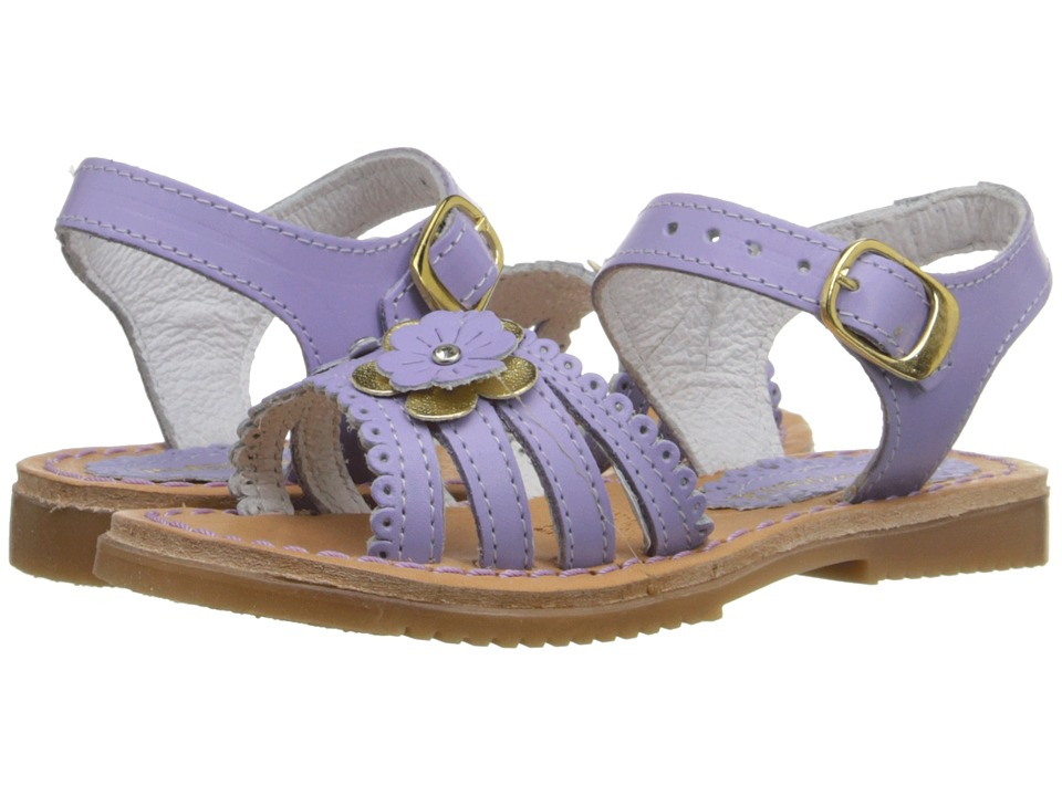 Kid Express - Odelia (Toddler/Little Kid/Big Kid) (Lilac Leather) Girls Shoes