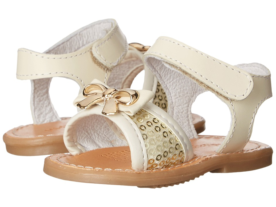 Kid Express Ivette (Infant/Toddler) (Ivory Combo) Girls Shoes