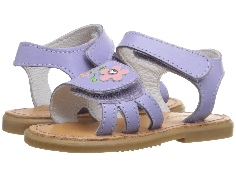 Kid Express - Bernardine (Infant/Toddler) (Lilac Leather) Girls Shoes
