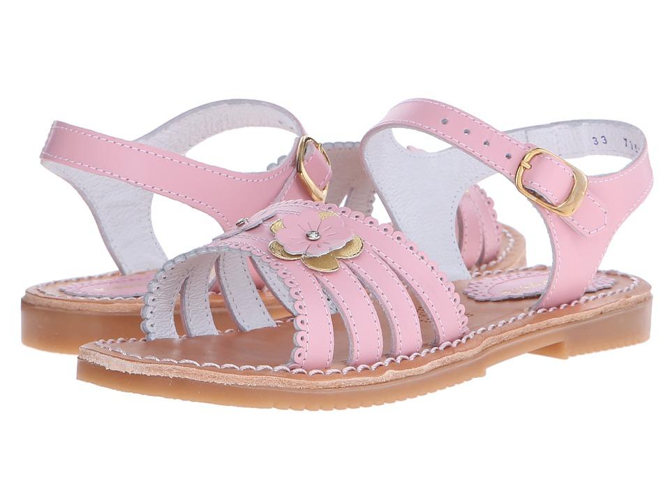 Kid Express - Odelia (Toddler/Little Kid/Big Kid) (Pink Leather) Girls Shoes