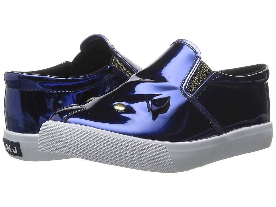 Little Marc Jacobs - Mouse Sneakers (Toddler/Little Kid/Big Kid) (Blue) Girls Shoes