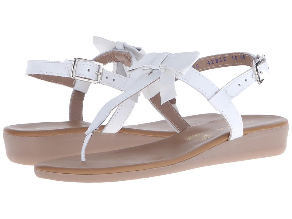 Kid Express - Paulina (Little Kid/Big Kid) (White Leather) Girls Shoes