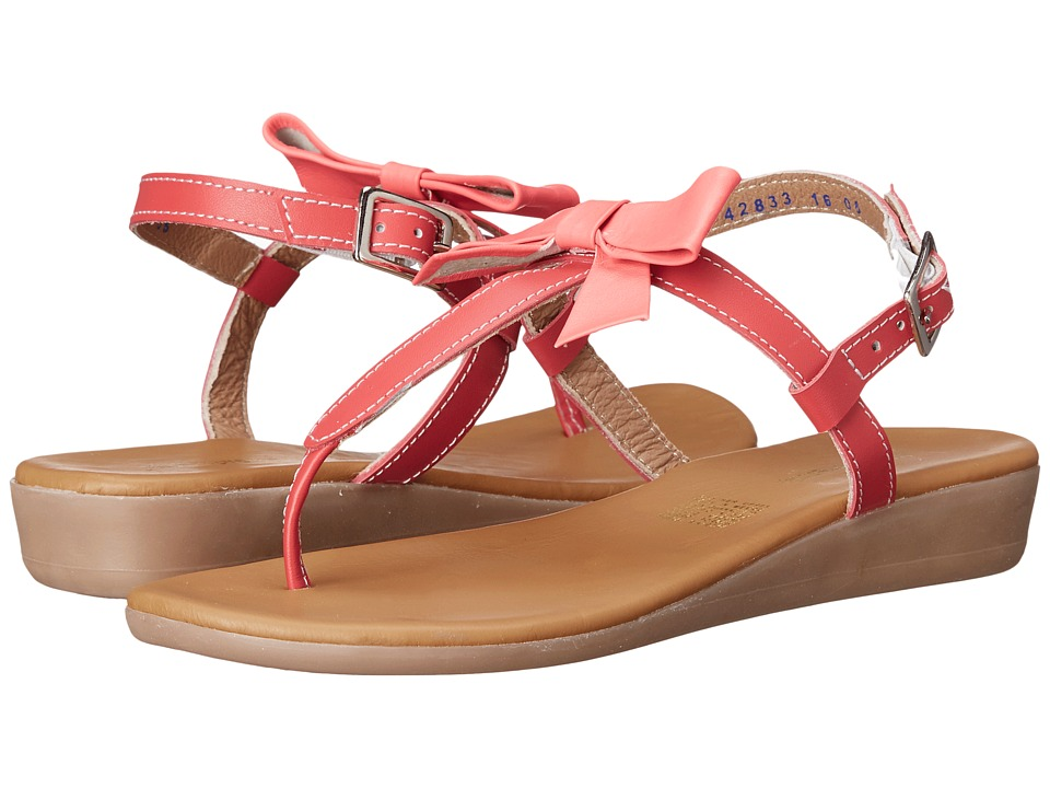 Kid Express Paulina (Little Kid/Big Kid) (Coral Leather) Girls Shoes