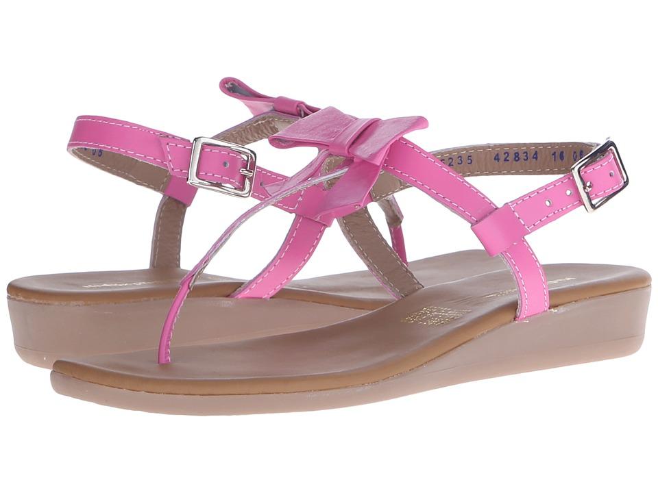 Kid Express Paulina (Little Kid/Big Kid) (Fuchsia Leather) Girls Shoes