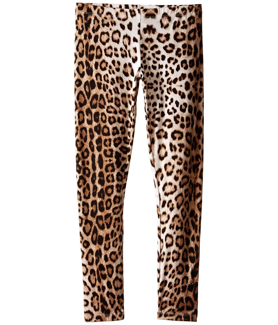 Roberto Cavalli Kids - Leopard Leggings (Big Kids) (Leopard) Girl's Casual Pants