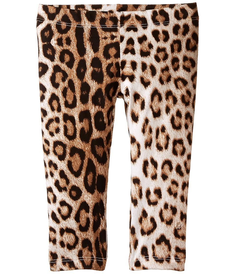 Roberto Cavalli Kids - Leopard Leggings (Toddler/Little Kids) (Leopard) Girl's Casual Pants