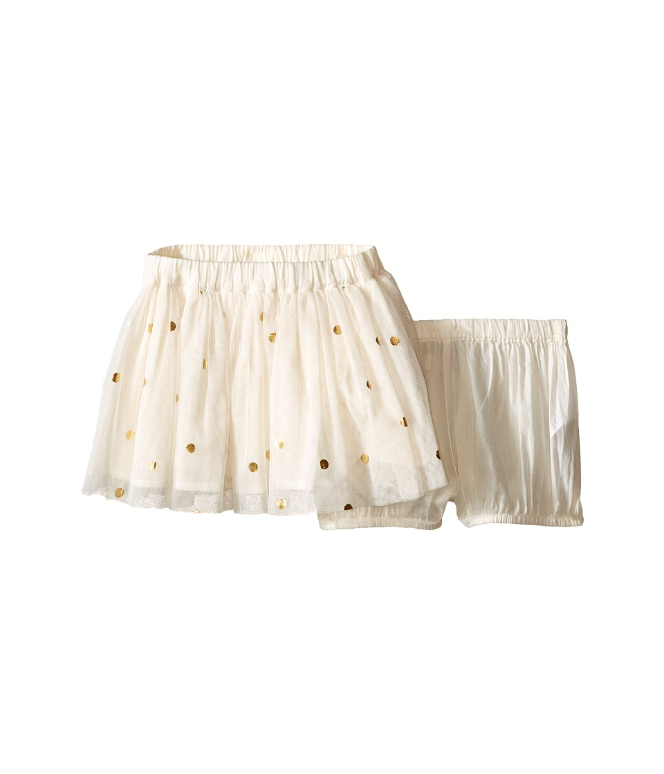 Stella McCartney Kids - Honey Polka Dot Tulle Skirt (Infant) (Cream) Girl's Skirt
