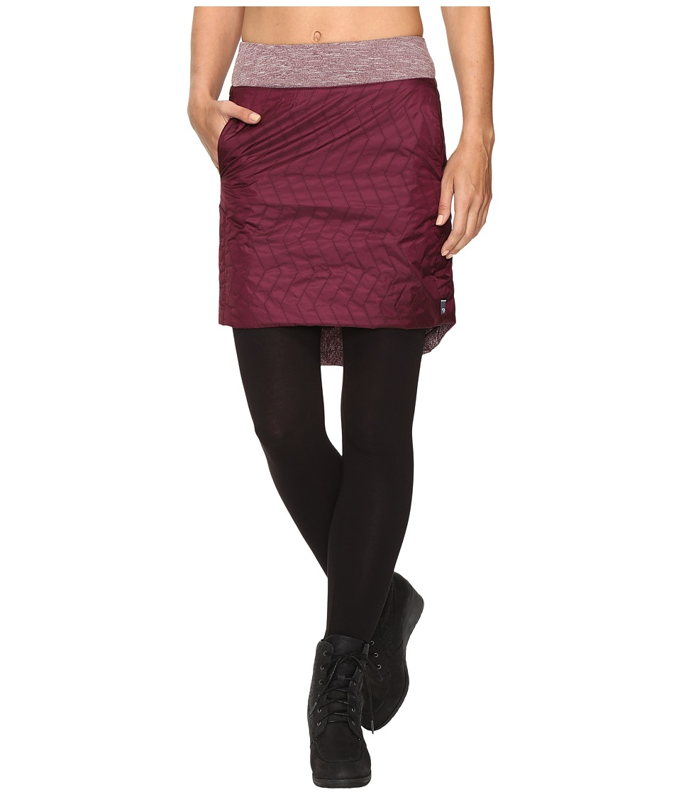 Mountain Hardwear - Trekkin Insulated Knee Skirt (Marionberry) Women's Skirt