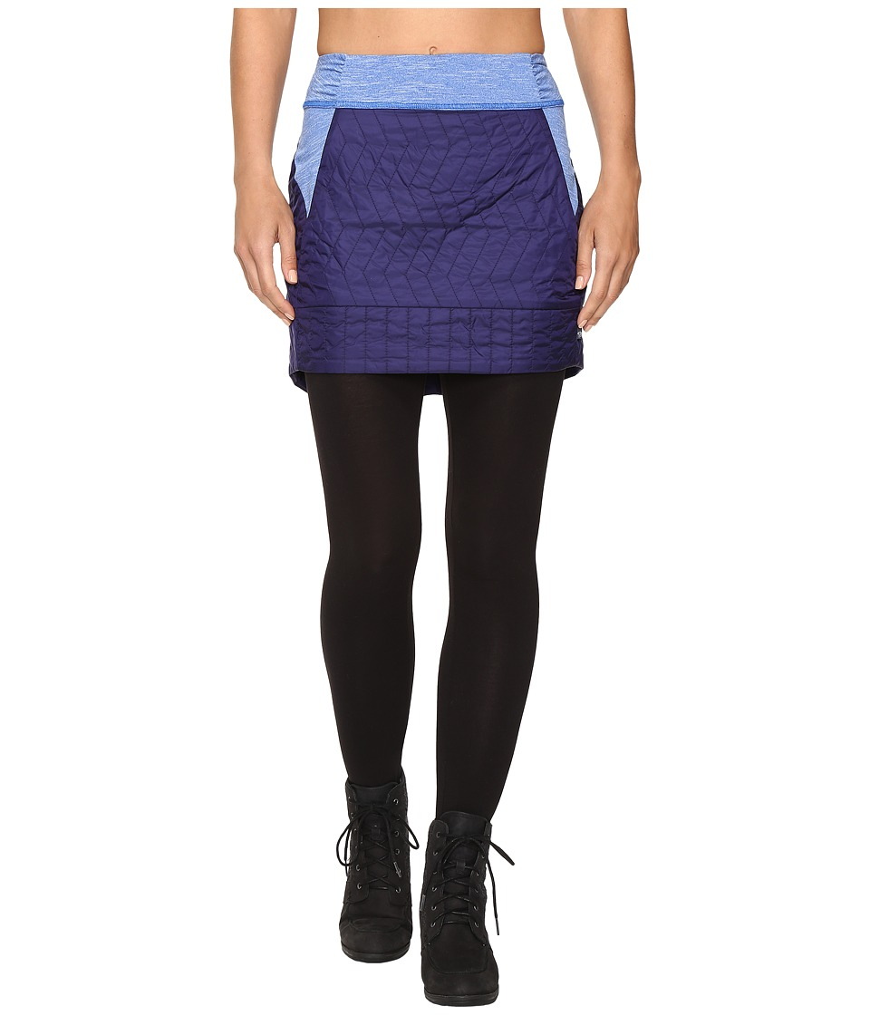 Mountain Hardwear - Trekkintm Insulated Mini Skirt (Indigo Blue) Women's Skirt