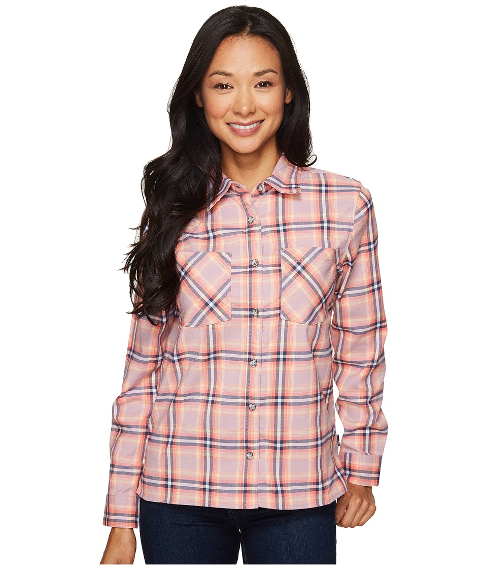Mountain Hardwear - Stretchstone Boyfriend Long Sleeve Shirt (Dusty Orchid) Women's Long Sleeve Button Up