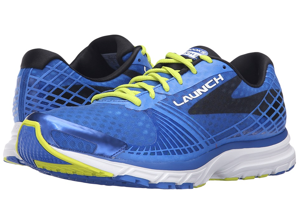 Brooks - Launch 3 (Electric Brooks Blue/Lime Punch/Black) Men's Running Shoes