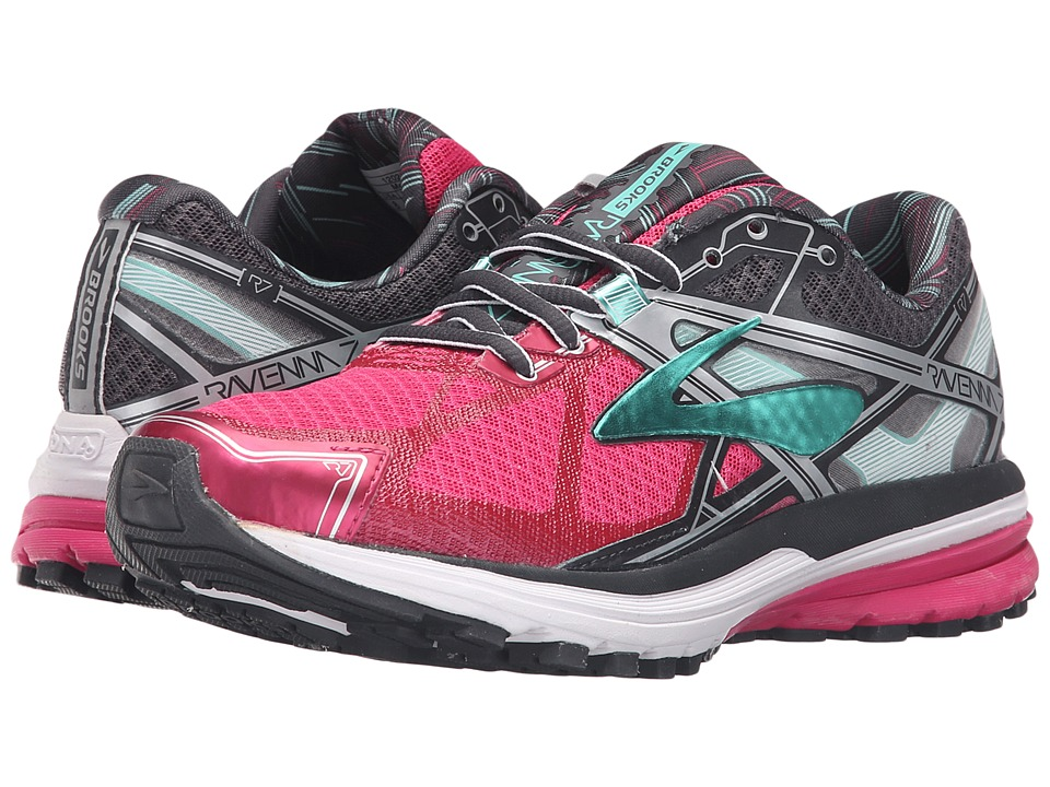 Brooks - Ravenna 7 (Fuchsia Purple/Anthracite/Cockatoo) Women's Running Shoes