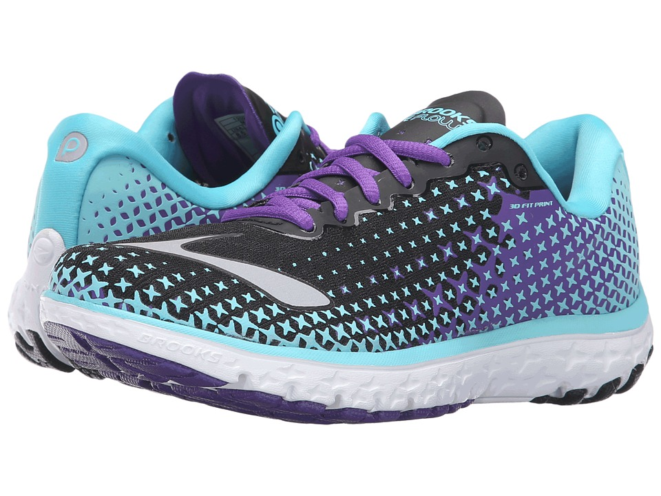 Brooks - PureFlow 5 (Bluefish/Black/Electric Purple) Women's Running Shoes
