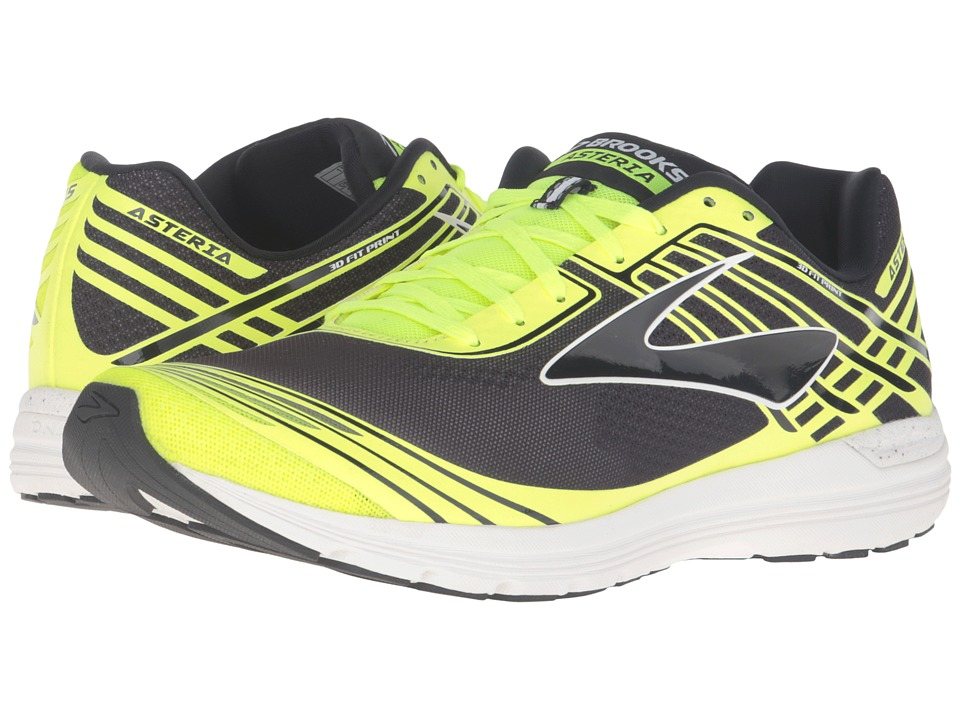 Brooks - Asteria (Black/Nightlife/White) Men's Running Shoes
