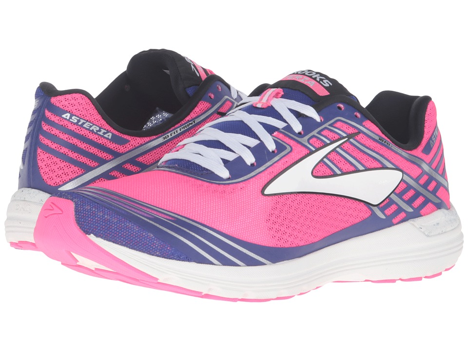 Brooks - Asteria (Knockout Pink/Clemantis/Black) Women's Running Shoes