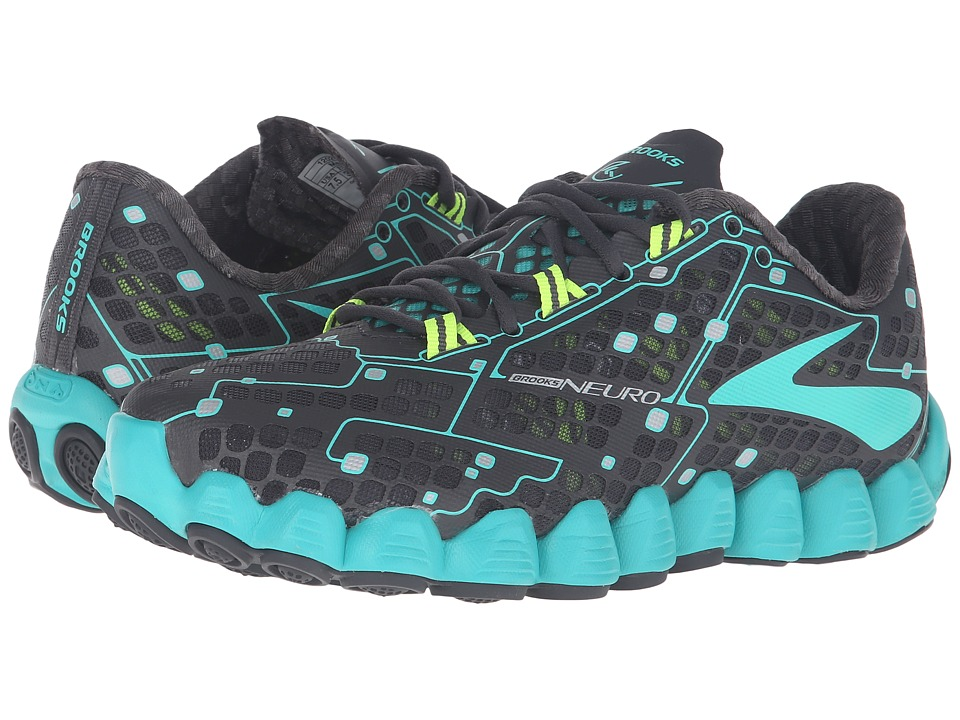 Brooks - Neuro (Anthracite/Ceramic/Nightlife) Women's Running Shoes