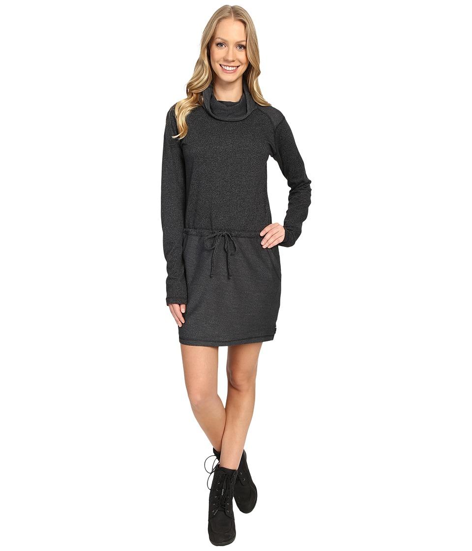 Mountain Hardwear - Shadow Knit Long Sleeve Dress (Black) Women's Dress