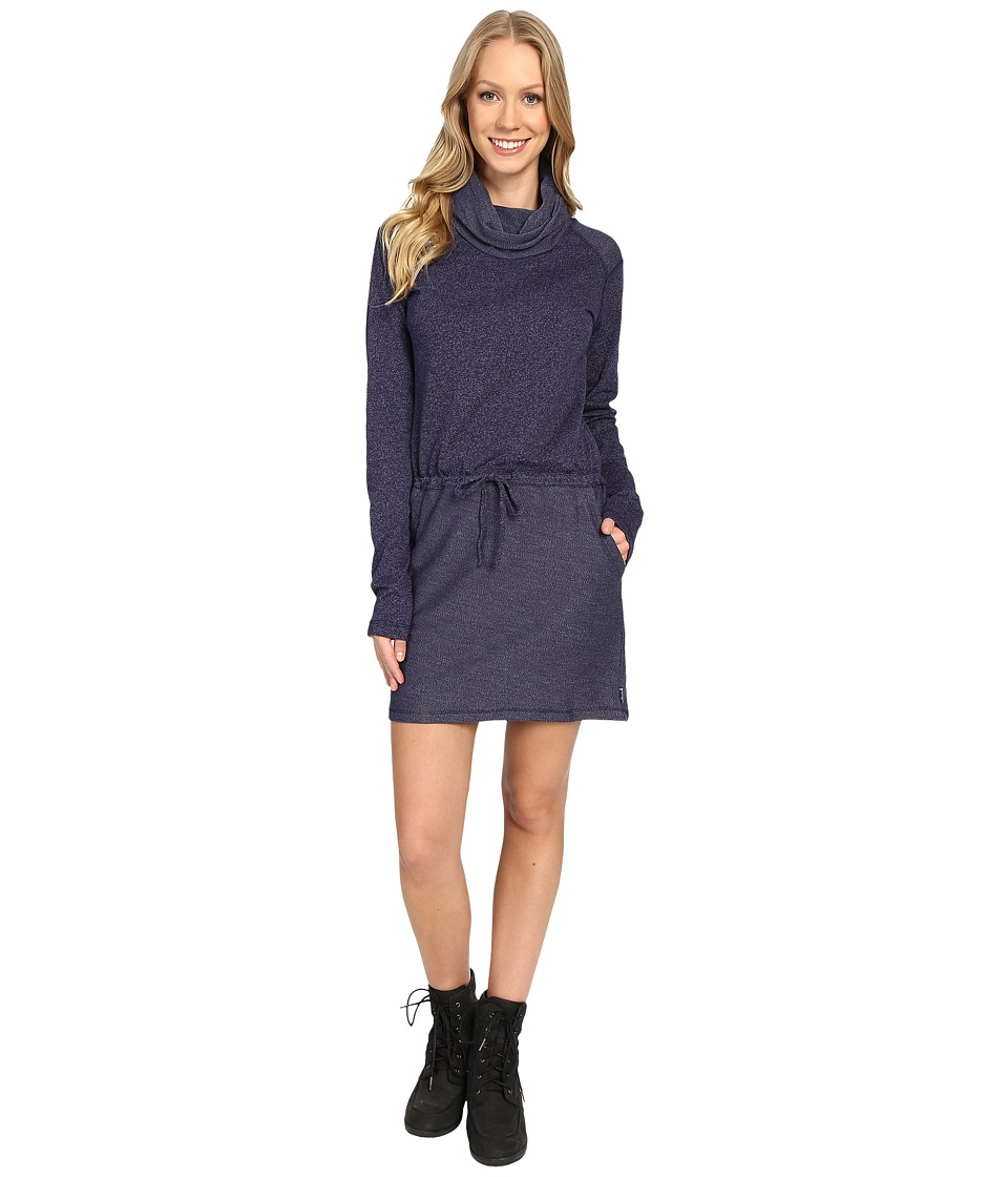 Mountain Hardwear - Shadow Knit Long Sleeve Dress (Indigo Blue) Women's Dress