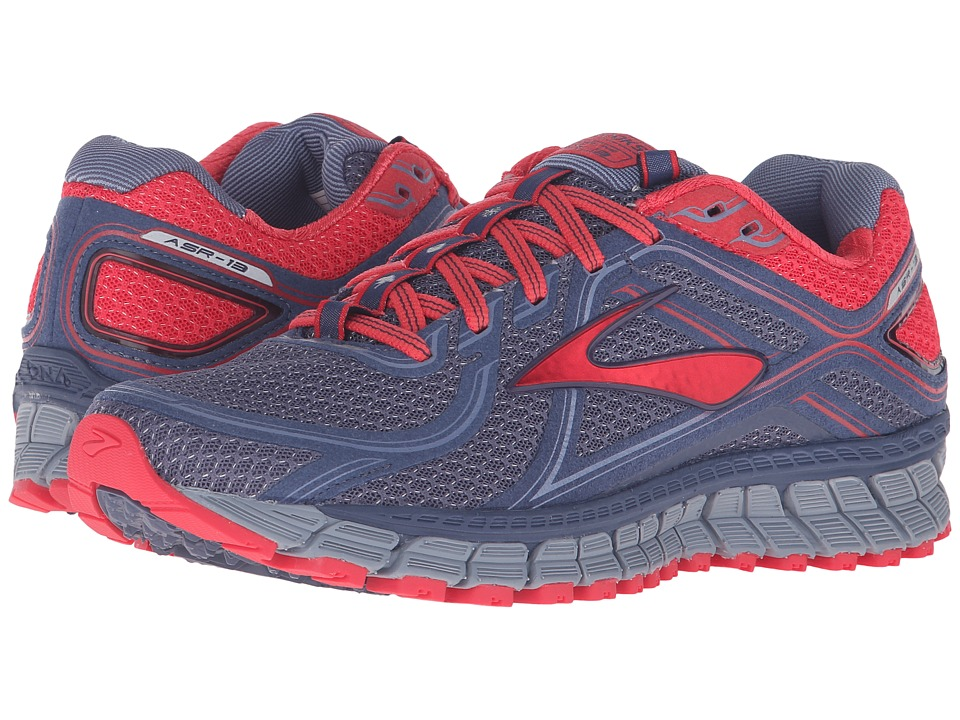 Brooks - Adrenaline ASR 13 (Crown Blue/Teaberry/Stonewash) Women's Running Shoes