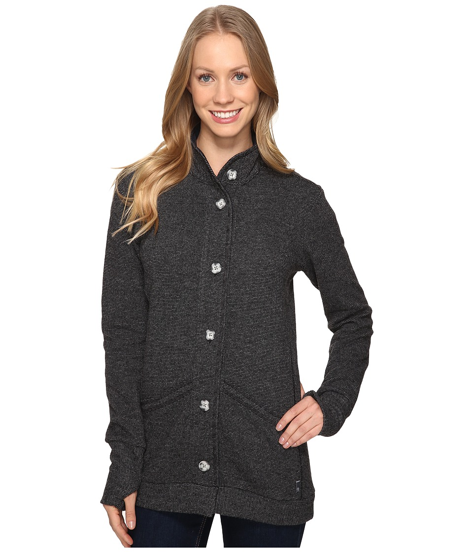 Mountain Hardwear - Sarafin Long Sleeve Cardigan (Black) Women's Sweater