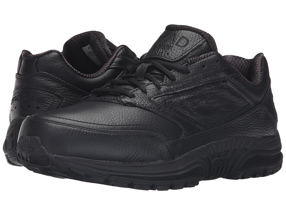 Brooks - Dyad Walker (Black) Men's Walking Shoes